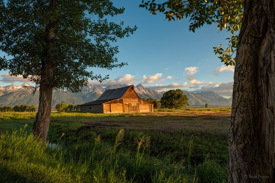 Grand Teton Mormon Barn