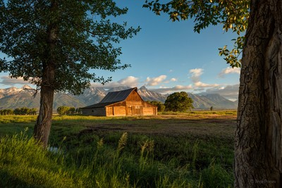 Grand Teton Mormon Barn