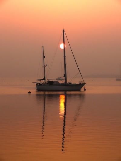 Stillness of the dawn