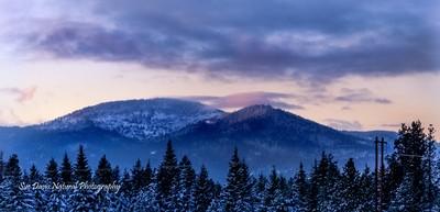 Rathdrum Idaho Mountain range