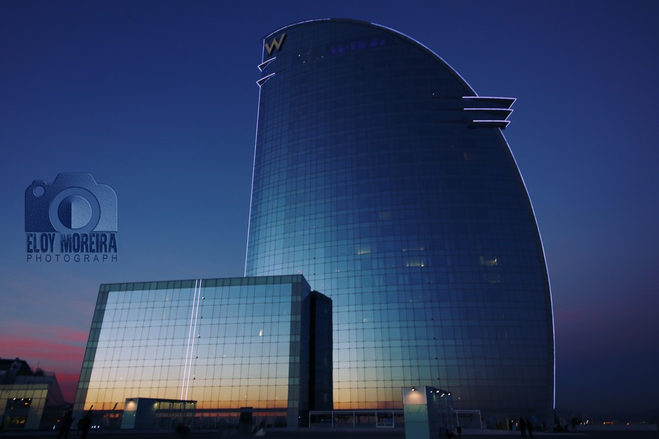 A total vision of this wonderful hotel in Barcelona.