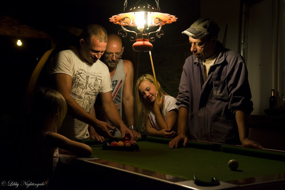 This was taken in a remote village in Eastern Europe. My 10 year old daughter was teaching one of...
