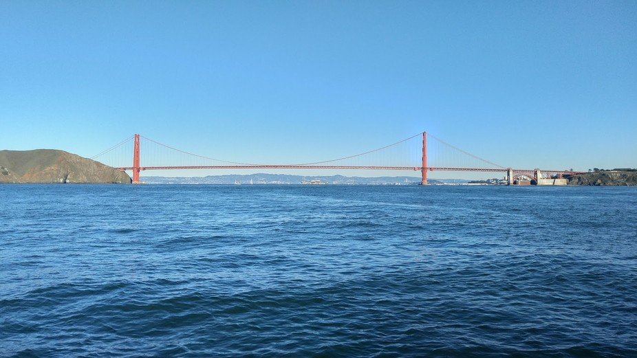 Returning from a fishing trip to the Farallon Islands off the coast of San Francisco