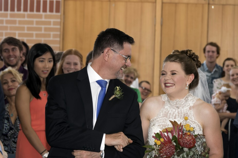 The wedding of an old friend's youngest daughter, the joy and excitement is palpable