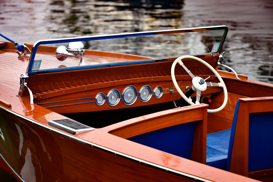 This image was taken at the Hessel Wooden Boat show in Hessel, Michigan during August, 2016.