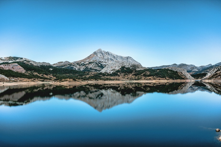 In the north of Spain there are a lot of undiscovered and magical places like this lake, if you h...