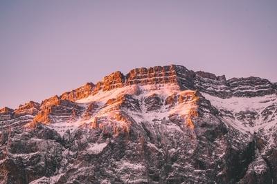 Sunrise In Shahdag Mountain