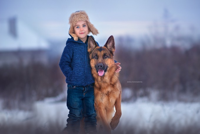 Dear friend by annabondareva_9326 - Kids And Pets Photo Contest