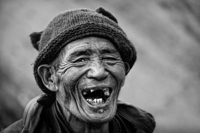 Cheerfull tibetan