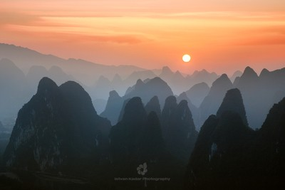 Mountain Layers, Yangshuo, China