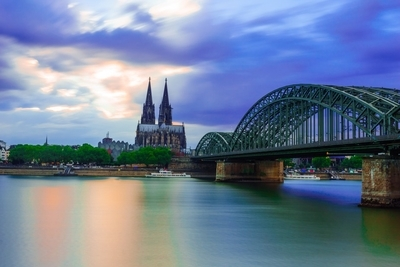 Cologne Cathedral @ after sunset