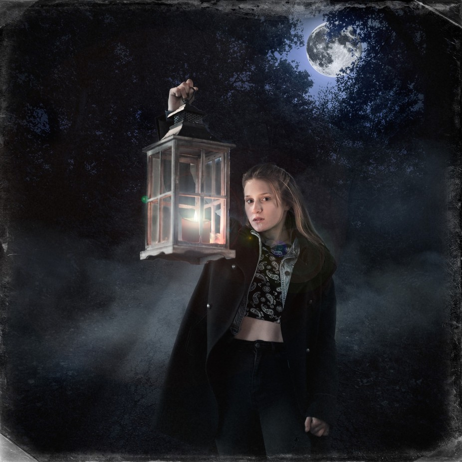 Lantern by thierryvouillamoz - Fantasy In Color Photo Contest