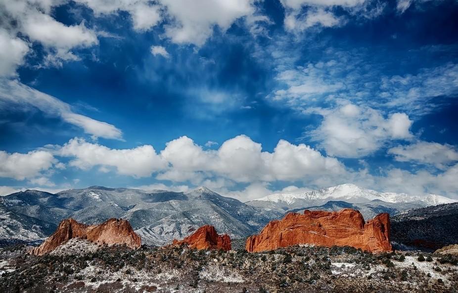 Snowy Morning in Colorado