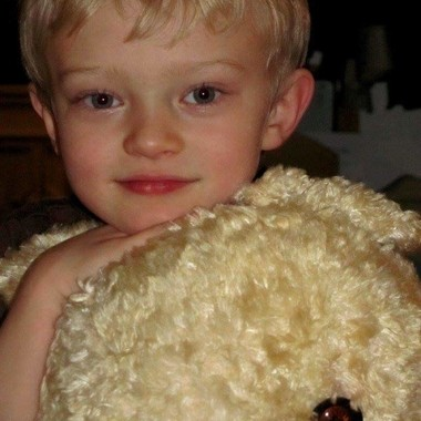 A Boy and His Fuzzy Bear