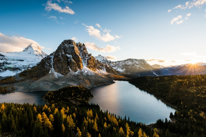 Mt Assiniboine by erikmcritchie - Flares 101 Photo Contest