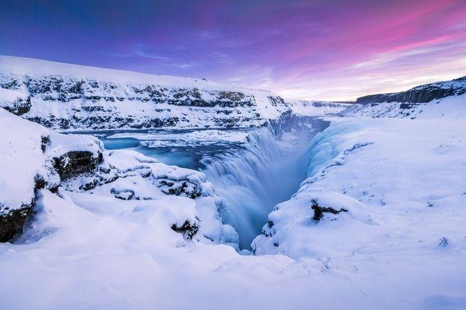 Gullfoss - Iceland by ChristopherLH - The Zen Moment Photo Contest