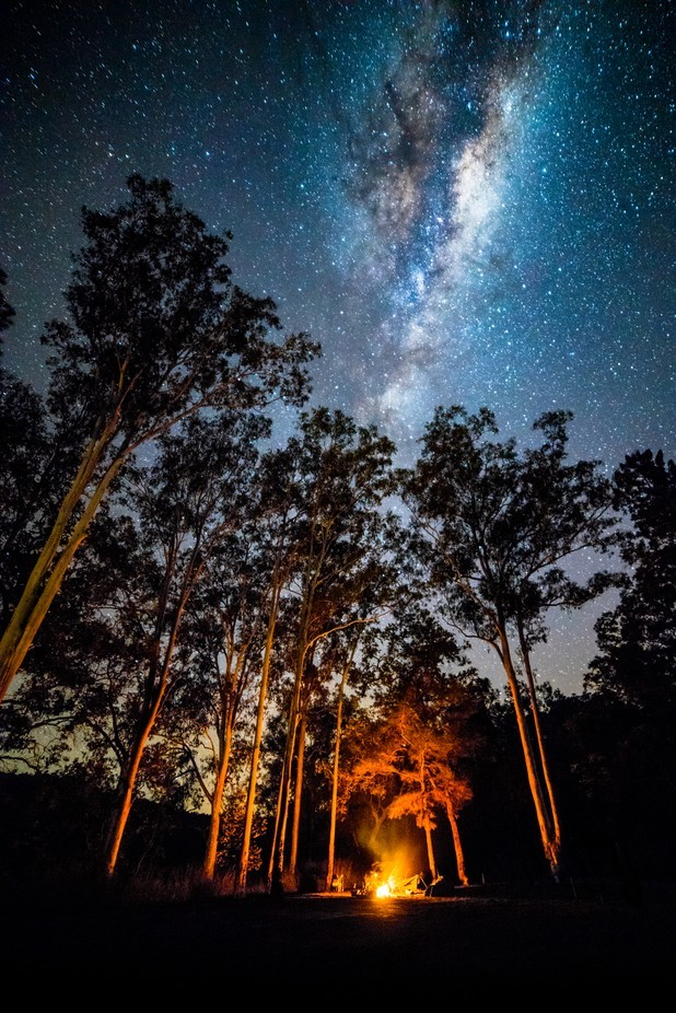 Camping under the Stars by DanMarshall91 - Shooting Fire Photo Contest