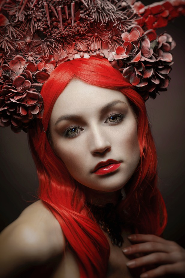 RED-Queen by KoreaSaii - Red Hair Photo Contest
