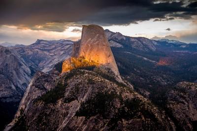 Yosemite - Before the storm