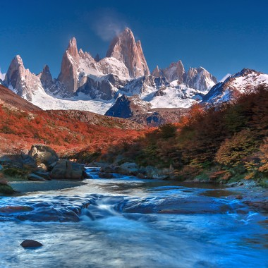 Patagonia is a magical area. You just need patience and a very warm sleeping bag.
