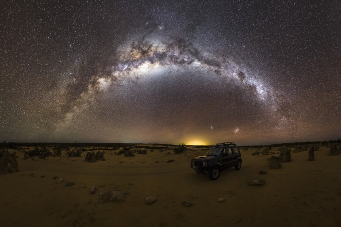 The Pinnacles Drive by ASTRORDINARY - Fish Eye And Wide Angle Photo Contest