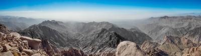 at the top of umm shomar mountain