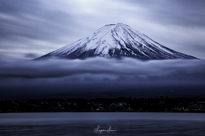 Moody Fuji  by LeightonLum - The Magic Of Japan Photo Contest