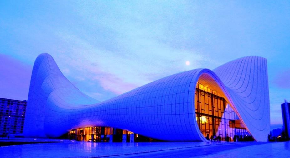 Hydar Aliyev center, Baku, Azerbaijan