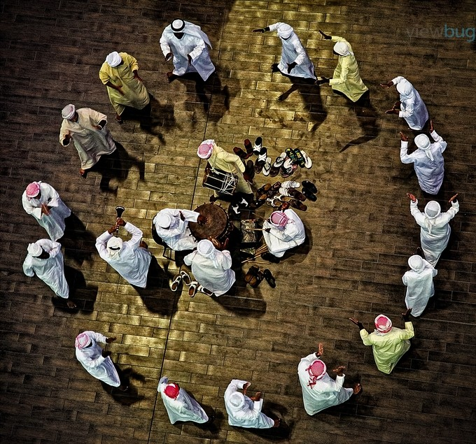 Arabic Dance by abussaud - Composing With Circles Photo Contest