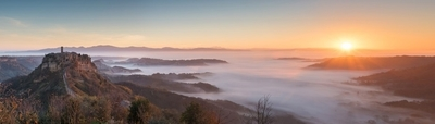 Sunrise at Civita di Bagnoregio