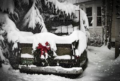 Santa's Old Ride