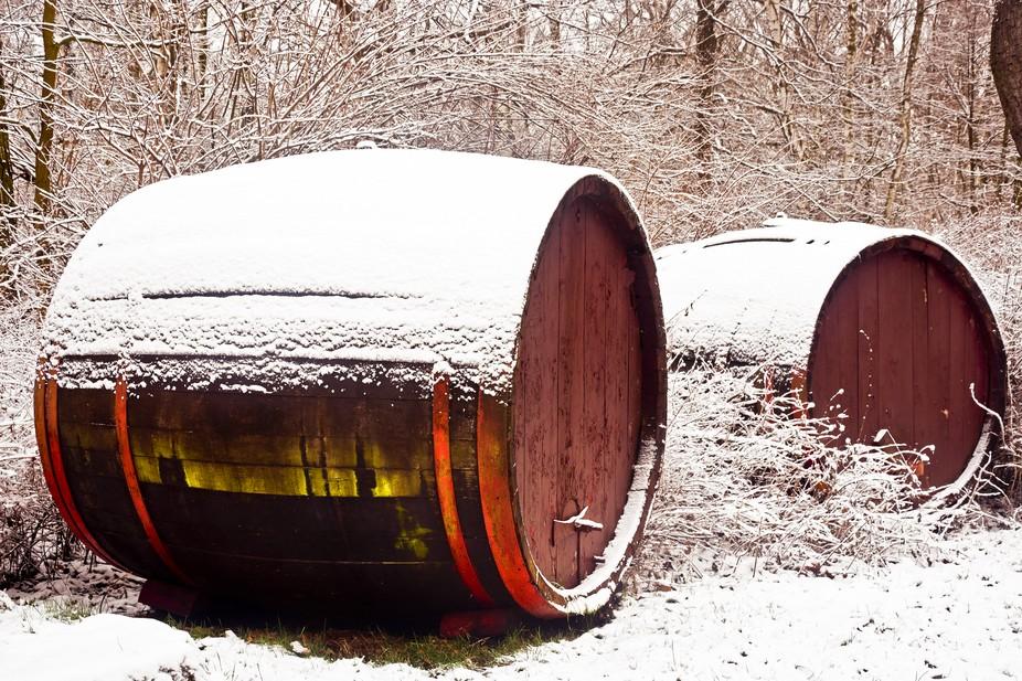 Barrels of a delicious ...