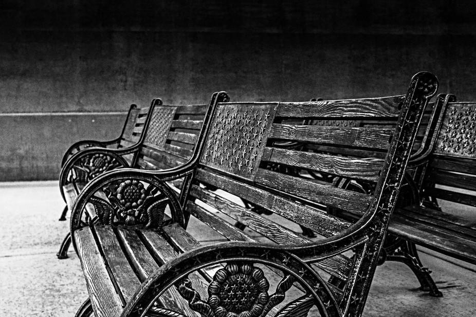 Veteran's Memorial Cemetary Benches
