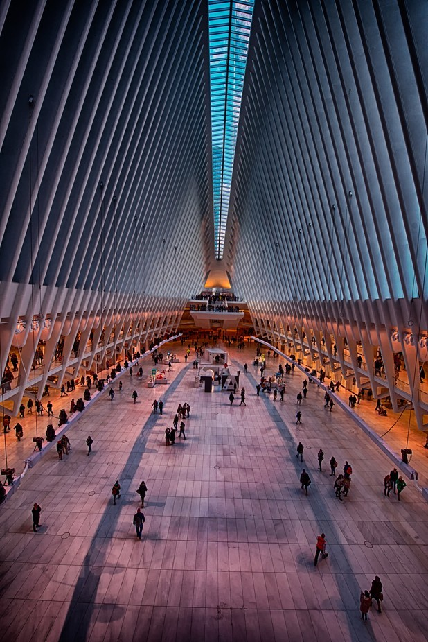 Westfield Mall World Trade Center by CliffordPugliese - People In The City Photo Contest