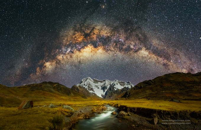 The amazing Ausangate. Cusco, Peru by sergiovindas - Capture The Milky Way Photo Contest