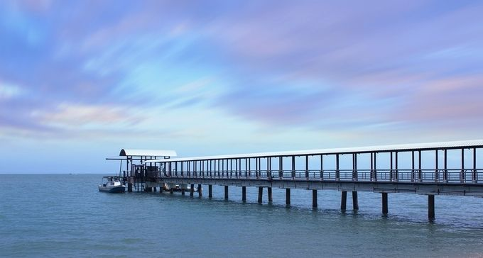 Pier by Brothers-Photography - The Moving Clouds Photo Contest