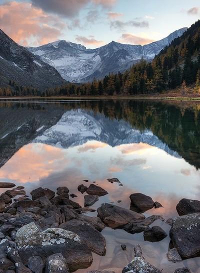 Reflective High Sierras (California 2012)