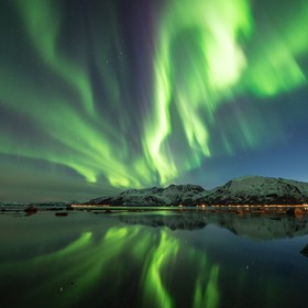 On our last day photo road tripping in Northern Norway, we got really lucky to witness a G2-class geomagnetic storm. This is captured when the sh...