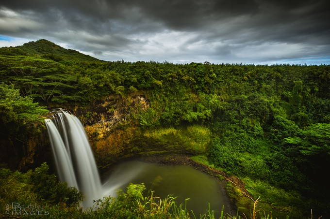 Wailua Falls by doublebarrelimages - Long Exposure In Nature Photo Contest