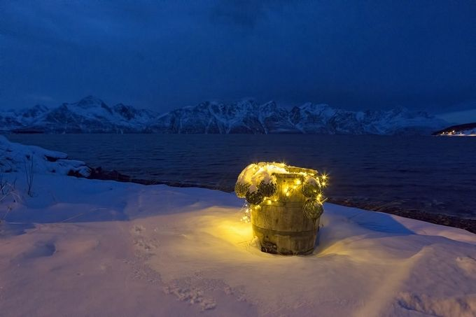 A Fisherman's christmas tree by zlimmen - Subjects On The Ground Photo Contest