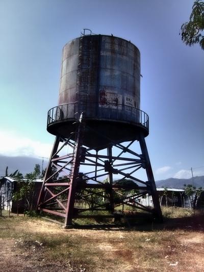 watertower in granada, nicaragua