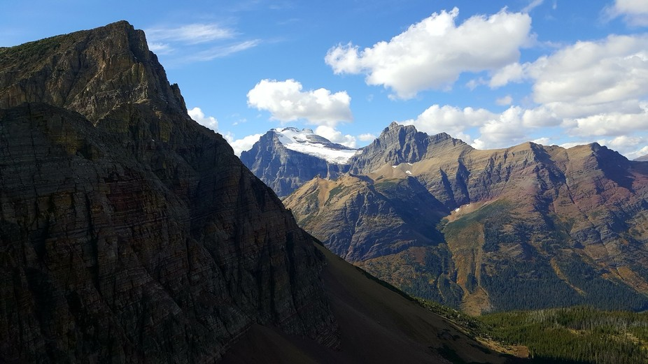 The views in this amazing park never disappoint. This was taken from the Ptarmigan Tunnel hike af...