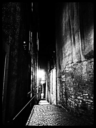 The Spooky Alleyway