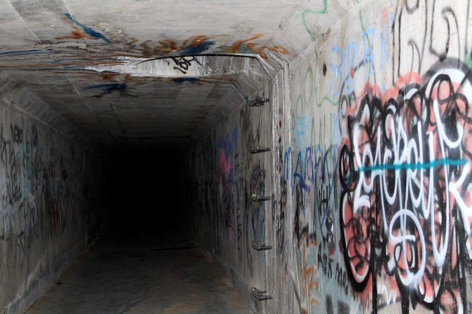 Sewage Tunnel in Simi Valley, CA