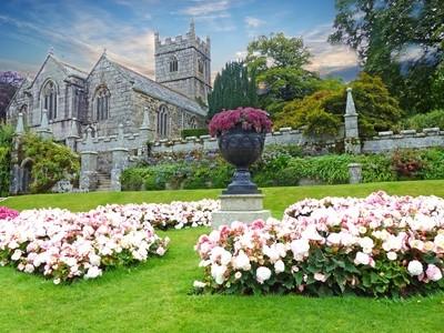 St Hydroc Church, Cornwall, England