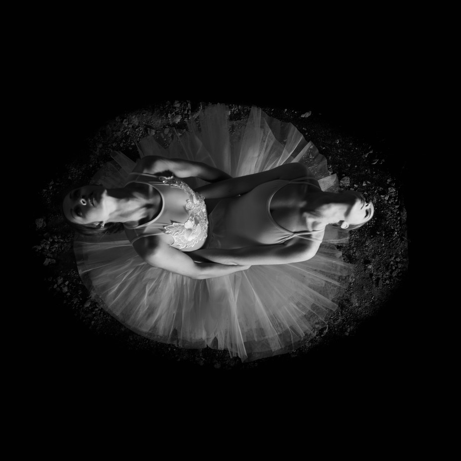 2 become 1 by lillgullhav - Composing With Circles Photo Contest