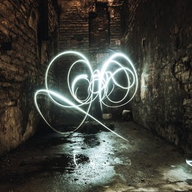 This is my first attempt at lightpainting. Went into an abandoned factory and decided to try lightpainting, quite happy with the result with it b...