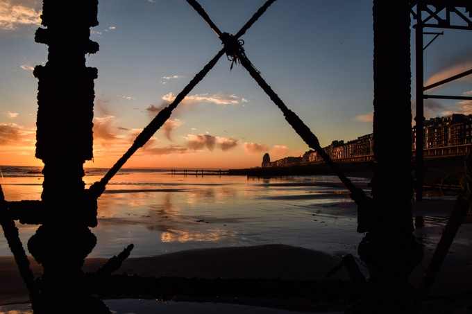 under the pier by stargasm420 - The View Under The Pier Photo Contest