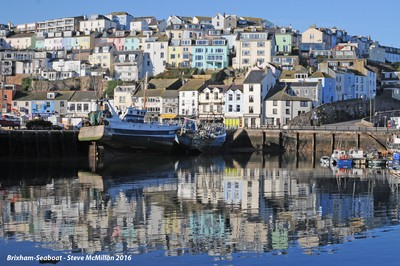 Brixham Harbour and lovely reflections