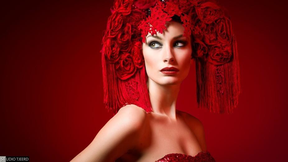 Photo shot at a workshop with Lindsay Adler Model: Danya Weevers MUA: Make-Up Matters
